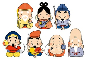 The Seven Deities of Good Fortune